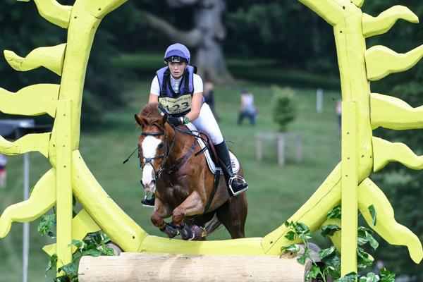 Bramham cross-country Emily King Dargun