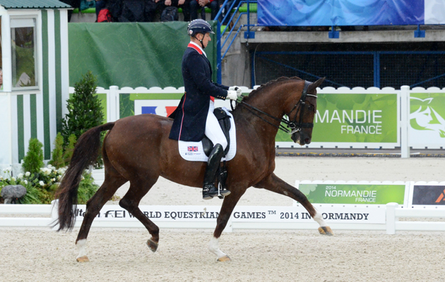 World Equestrian Games 2018 dressage riders