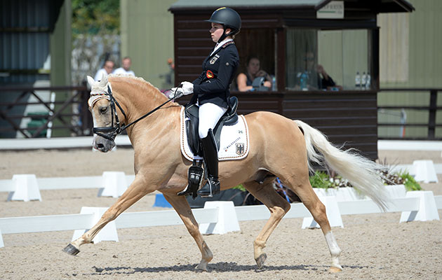 Young German dressage stars on top form at Pony Europeans - Horse