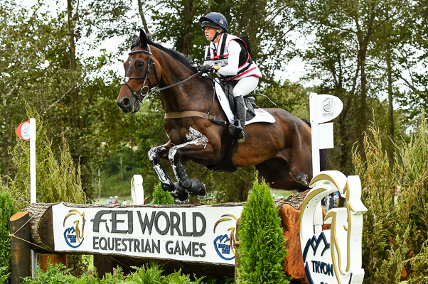 Ros Canter and Allstar B at WEG 2018. Picture by Peter Nixon WEG cross-country results Ros Canter