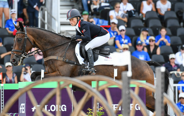 European Eventing Championships: British team members Ros Canter and Allstar B