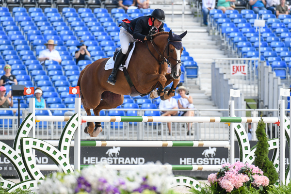 WEG showjumping team Thursday William Funnell Holly Smith William Funnell and Billy Buckingham at WEG 2018.