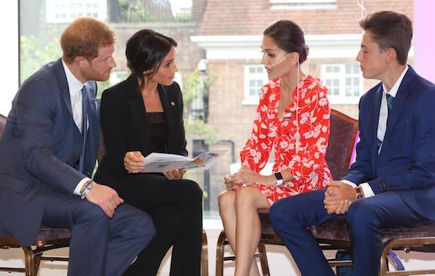Evie Toombes WellChild Awards Prince Harry Meghan