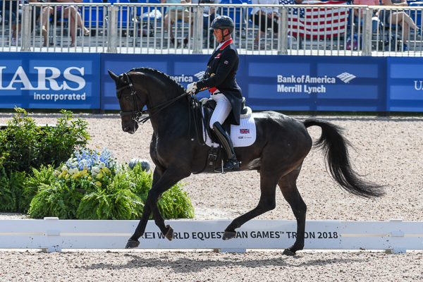 Carl Hester and Charlotte Dujardin surge up the world rankings after WEG