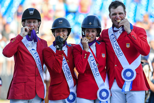 USA claims team gold in jump-off at WEG: 'I'm proud to be American'