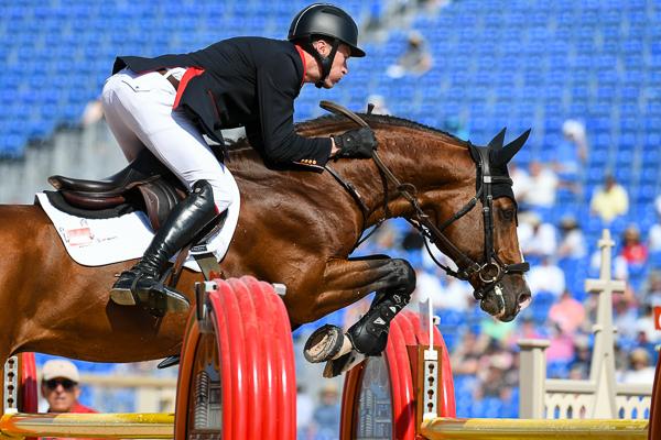 WEG showjumping speed William Whitaker