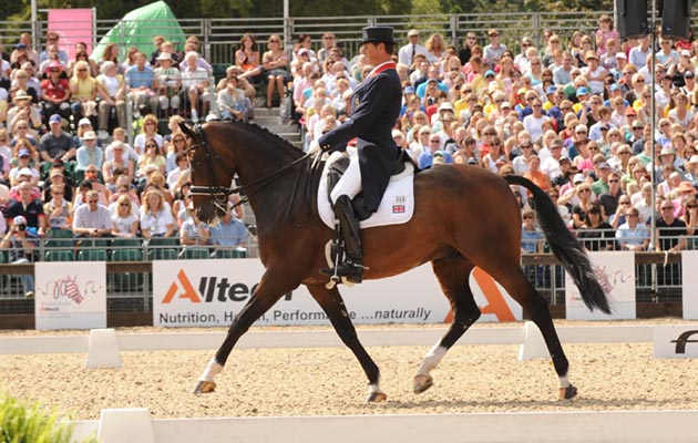 Carl Hester at the Windsor Europeans