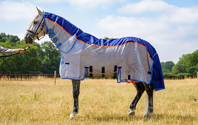 Premier Equine Stay Dry Super Lite Fly Rug Breathable Cool And Hard Wearing 8 10