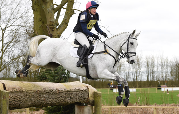 Patricia Pytches riding CES BALLYCAR CHIP in AI Section U at the Lincolnshire Horse Trials on the Lincolnshire Showground near Lincoln in Lincolnshire UK on 19th March 2017