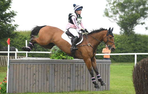 Heidi Coy Heidi Coy riding ROYAL FURY in OI Section C during the Little Downham (1) Horse Trials at the Ely Eventing Centre in the village of Little Downham near Ely in Cambridgeshire in UK on 1st June 2018