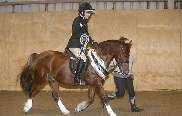 'An inspiration to many': rider with severe learning difficulties overcomes hurdles to make show ring debut