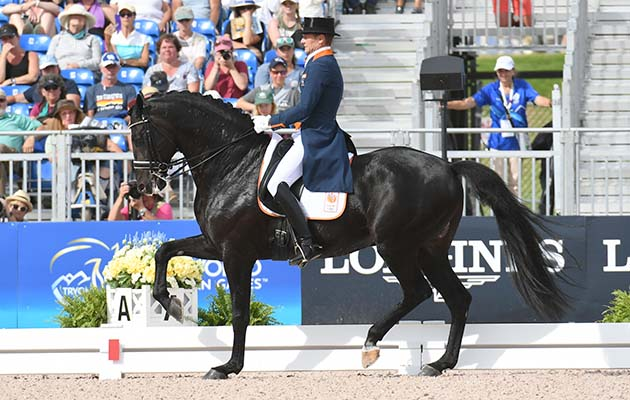 Top contenders ruled out of olympia dressage horse & hound