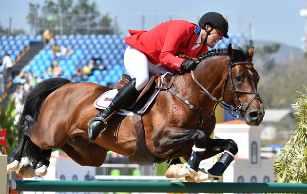 Top flight showjumpers seized by FBI in money-laundering case