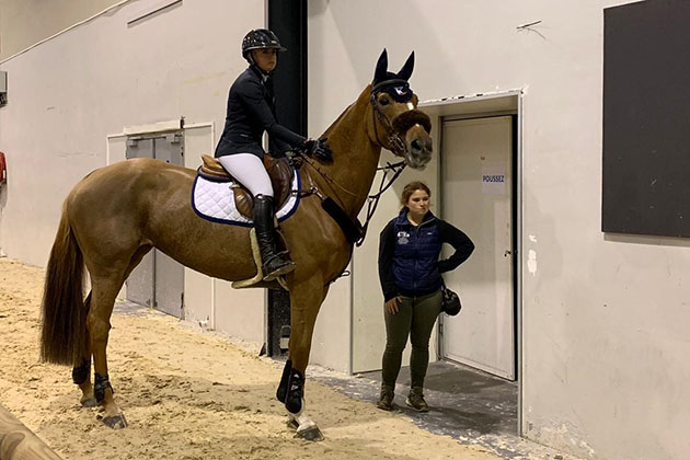 Kirstie Leightley's international showjumping vlog: a great start, an exciting new ride and looking forward to some sun - Horse & Hound