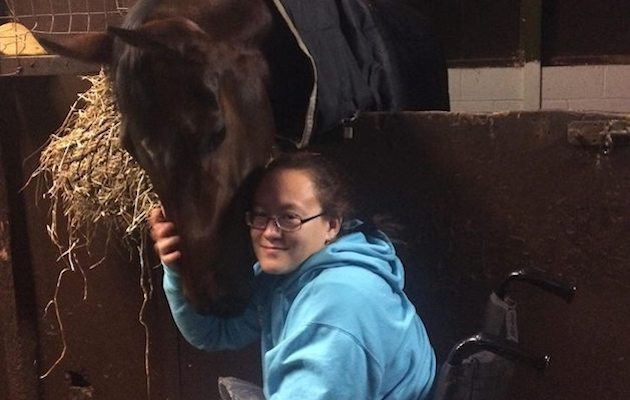 'Don't give up': rider who will never walk again aims for Paralympics - Horse & Hound