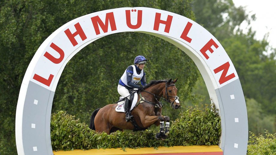 Mandatory Credit: Photo by David Hartley/REX/Shutterstock (2587976a) Zara Phillips riding High Kingdom in 2nd place after cross country Luhmuhlen CCI4, Salzhausen, Germany - 15 Jun 2013