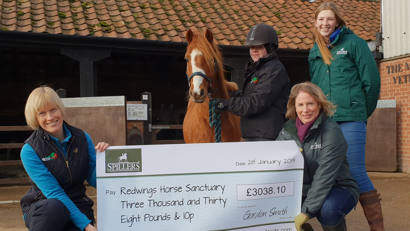 Feed company helps horses in need, plus the latest equestrian sponsorship news - Horse & Hound