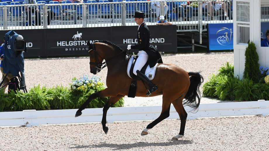 Olympic dressage withdrawals reshuffle