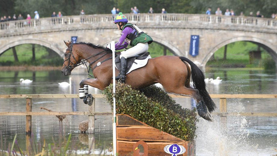 Emily Philp (GBR) riding CAMEMBERT during the cross country phase of the CCI*** during the Ssangyong Blenheim Palace International Horse Trials near Oxford in Oxfordshire, UK between 16th September 2017