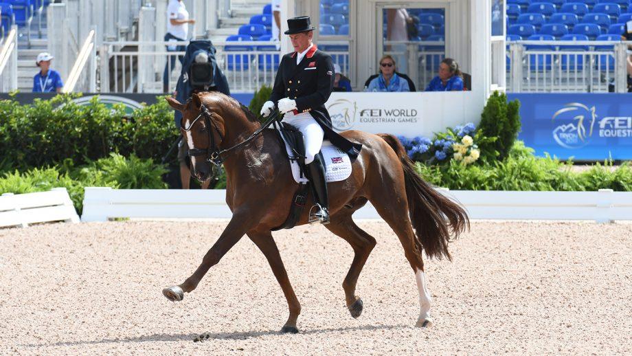 'It's sad but it's life': British WEG medallist loses top ride