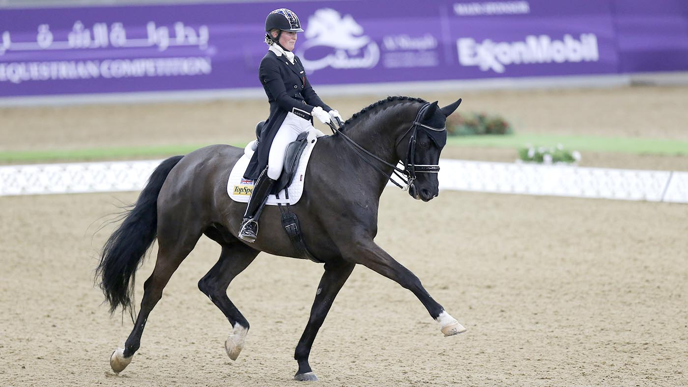 #SundaySchool: Hayley Watson-Greaves — how to encourage your horse to work over his back - Horse & Hound