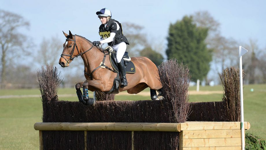 EllenCameron riding HANLEEN CROWN JEWELS in Int Sec O during the Lincoln Horse Trials near Lincoln in Lincolnshire, UK; on 22th March 2015