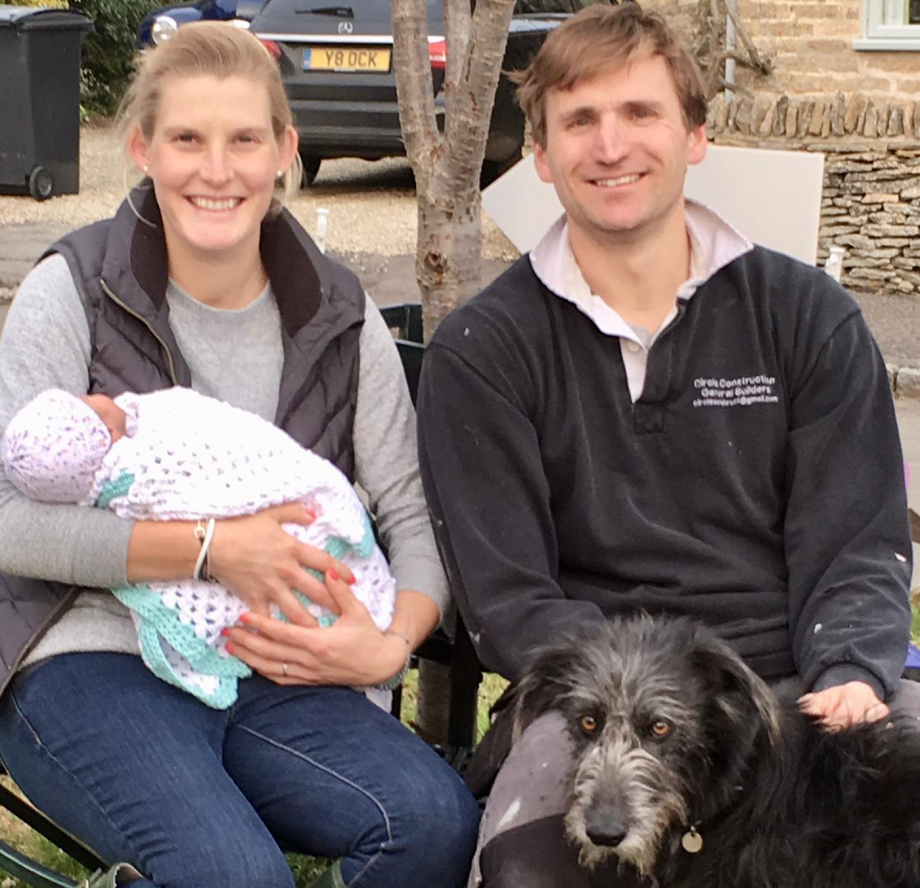 'Delighted' national champion rider welcomes first child