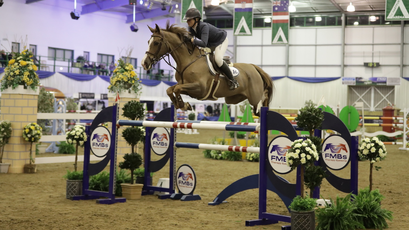 Who Says Don T Have Chestnut Mares Nicole Pavitt Takes Blue Chip Grand Prix Horse Hound