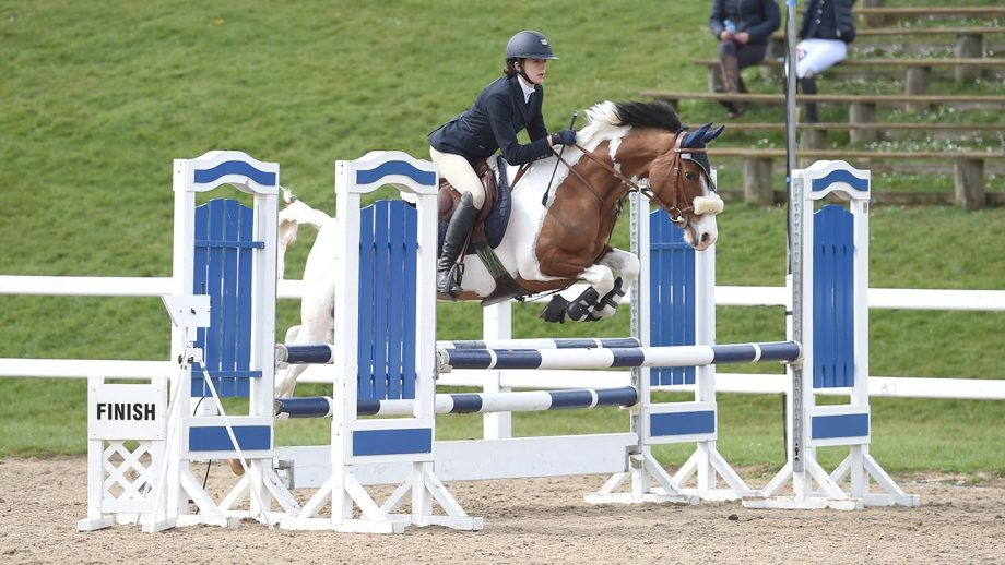 Blue CHip Winter Championships 2019 0603 - Priceless B and Chloe Ancill