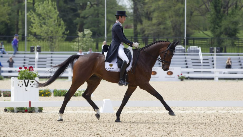 Kentucky dressage Felix Vogg