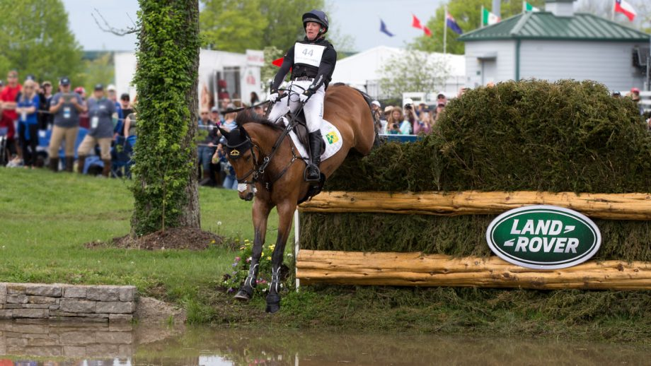 Kentucky cross-country Oliver Townend