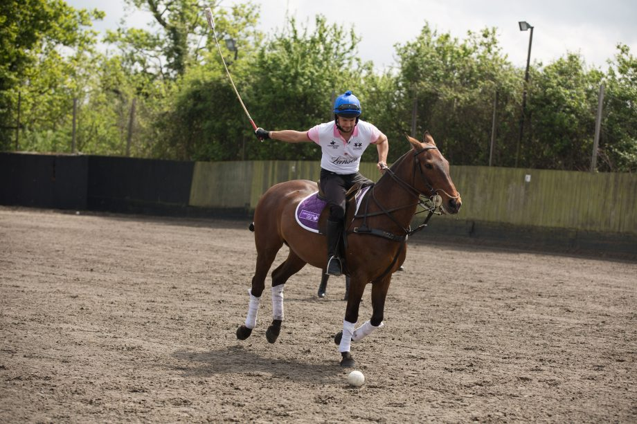 'It reminds me of ice hockey': watch Love Island star Chris Hughes try polo