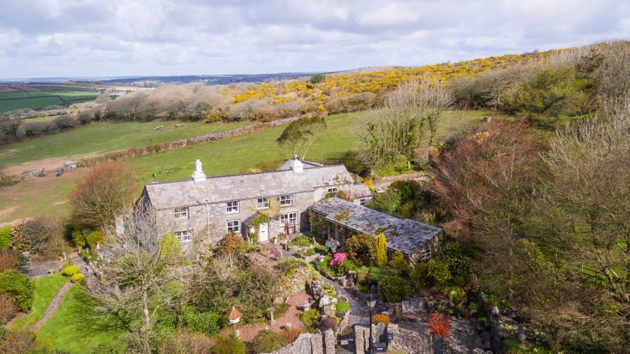 Imagine the hacking: a pretty cottage set in scenic coastal countryside with stables and 29 acres…