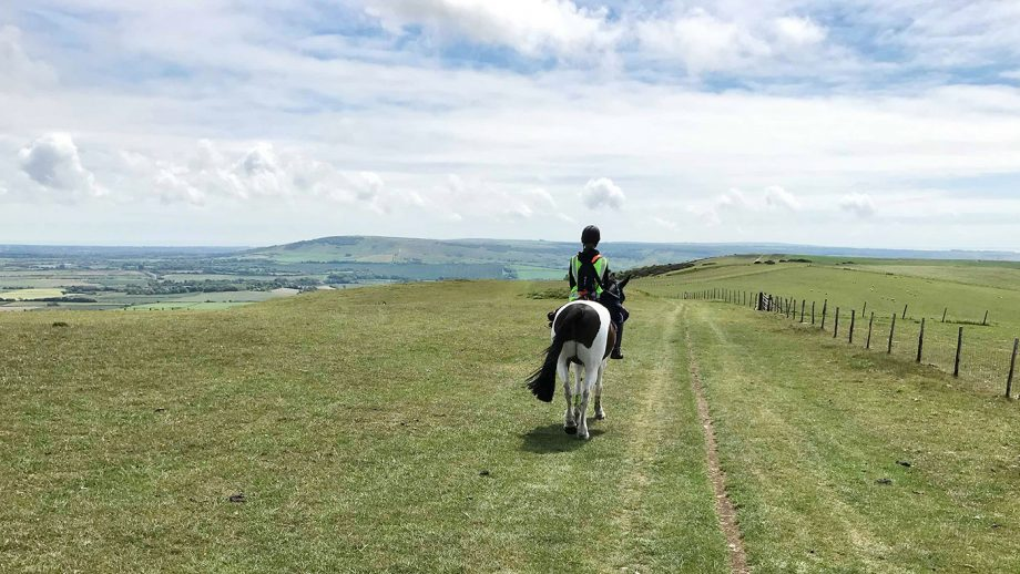 100 miles over four days: cousins take on adventurous long-distance ride over South Downs