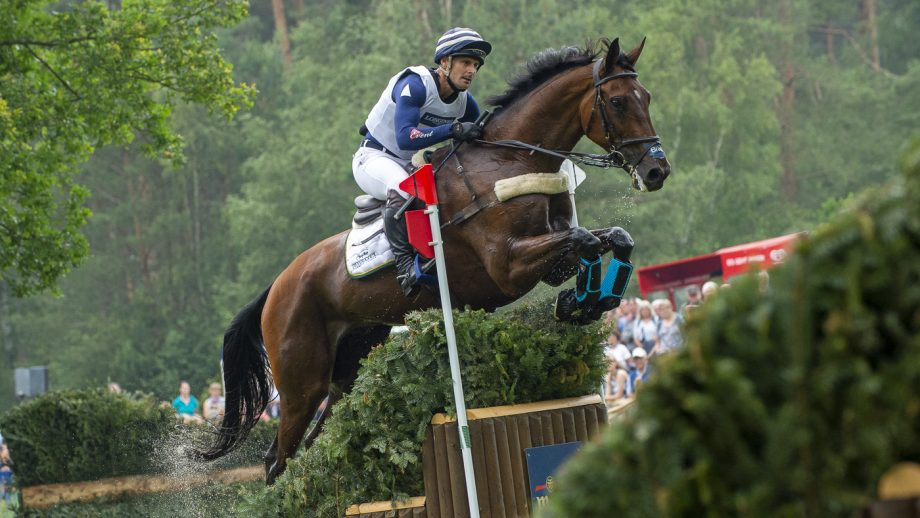 Alex Bragg eventer riding Zagreb