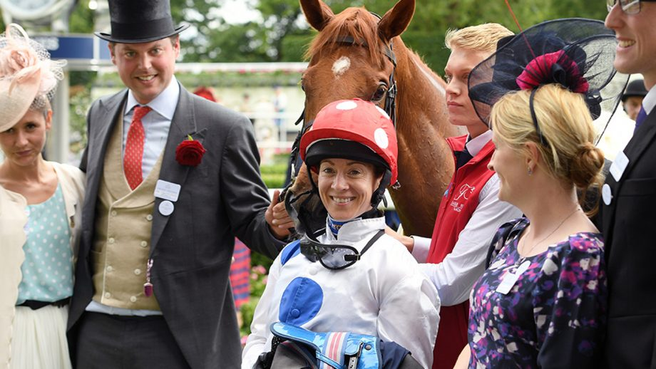 Hayley Turner: A Royal Ascot winner has been on my hit-list for a while *H&H VIP*