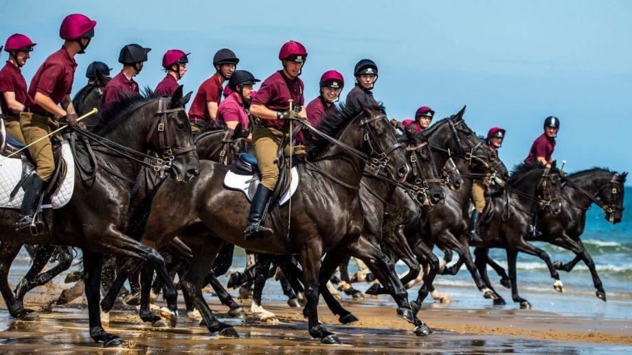 Household Cavalry Holkham beach 2019