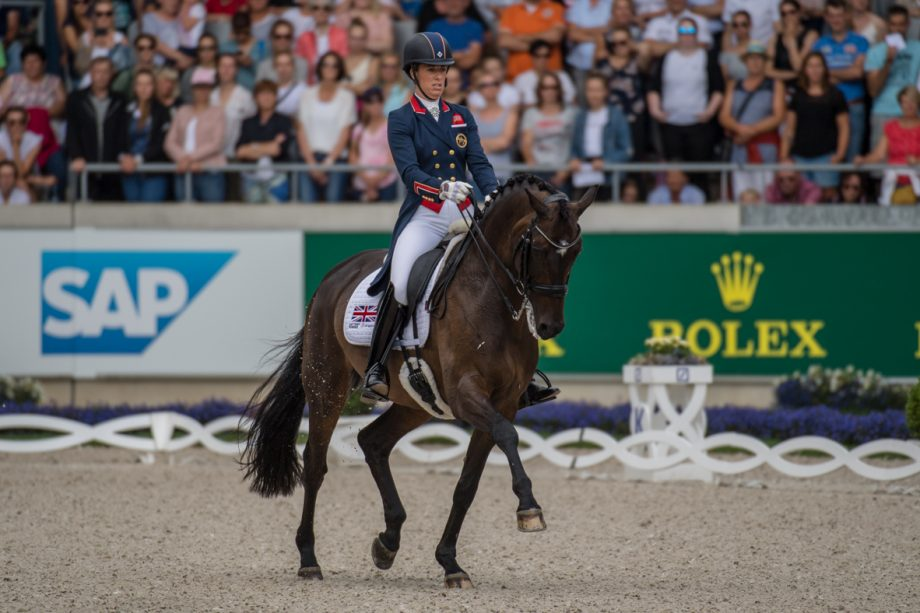 Charlotte Dujardin fifth in Aachen freestyle: 'I couldn't have asked any more of him'
