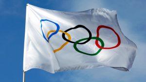 BXP0RB Olympic flag