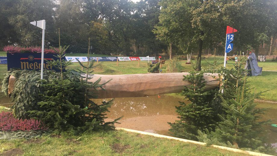 European Eventing Championships cross-country times