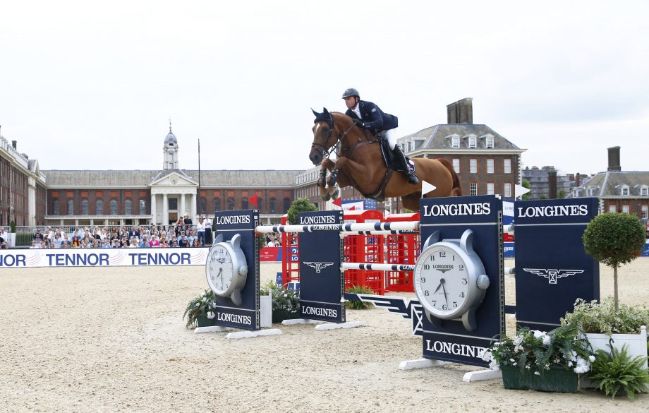 Ben Maher and Explosion W, Longines Global Champions Tour of London grand prix