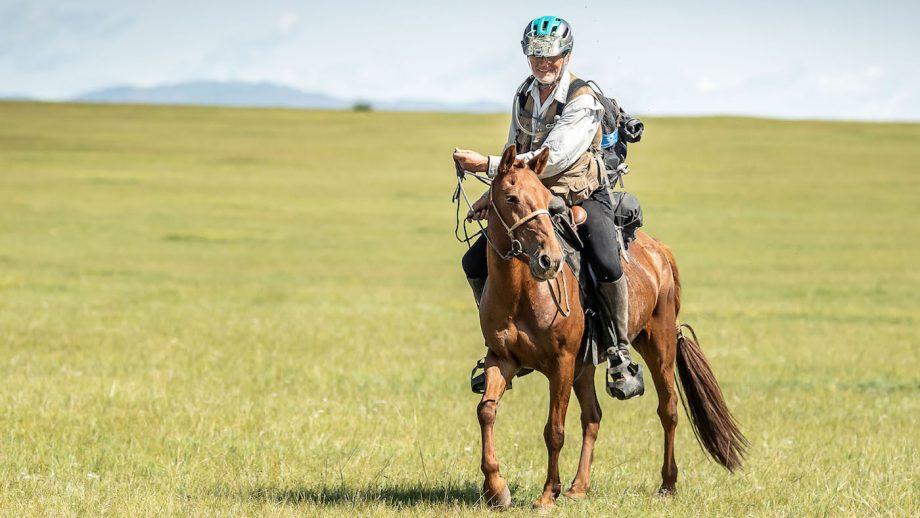 'He's tougher than concrete': 70-year-old cowboy wins world's 'longest race'