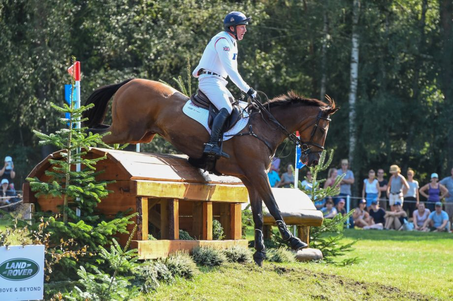 European Eventing Championships cross-country results
