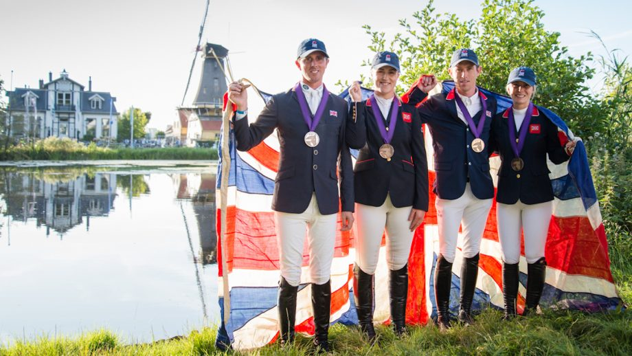 Britain Olympic showjumping qualification