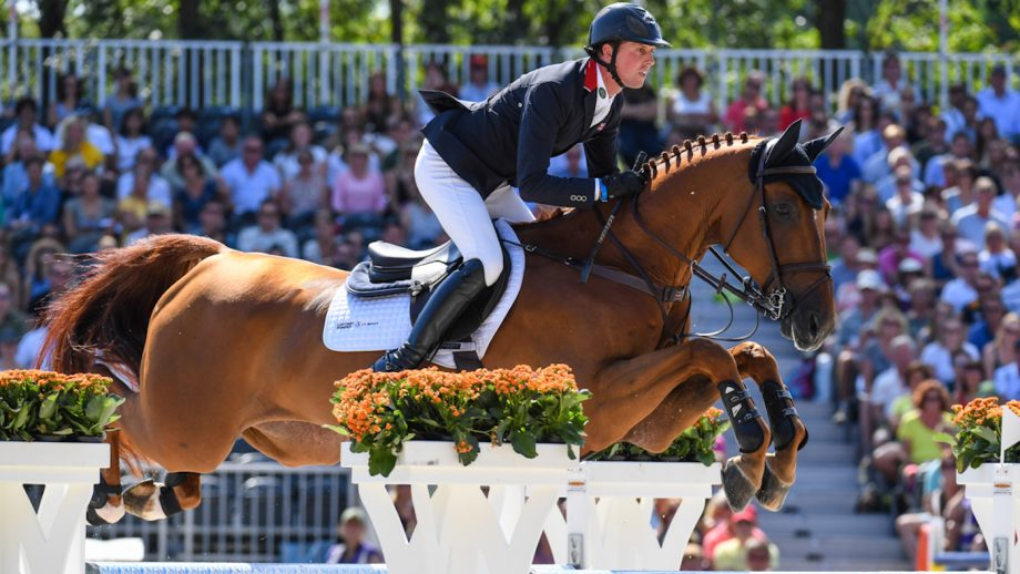 How to watch Olympic showjumping Ben Maher, pictured riding Explosion W at the 2019 European Showjumping Championships, has been selected for the British Olympic showjumping team.