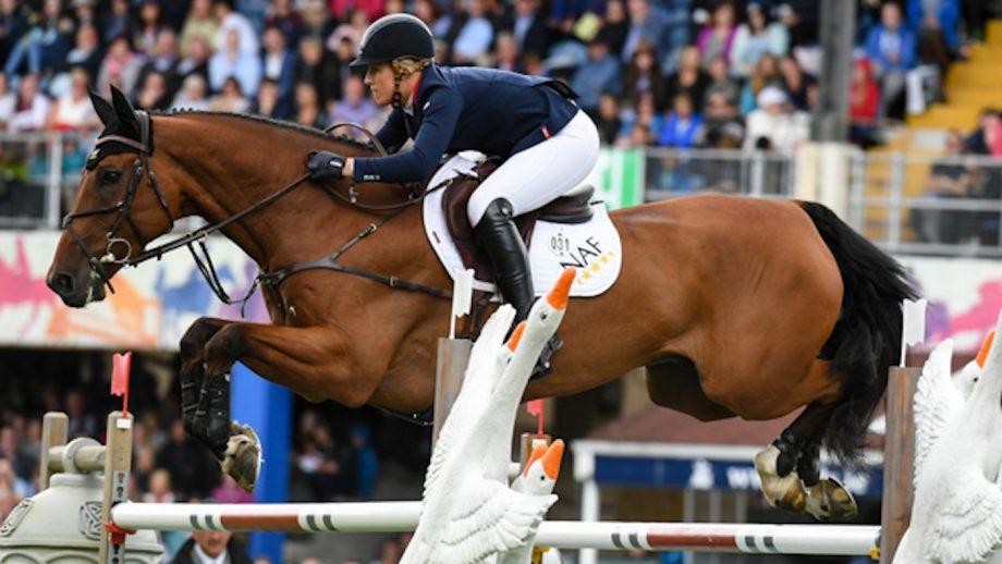 British showjumping times european championships