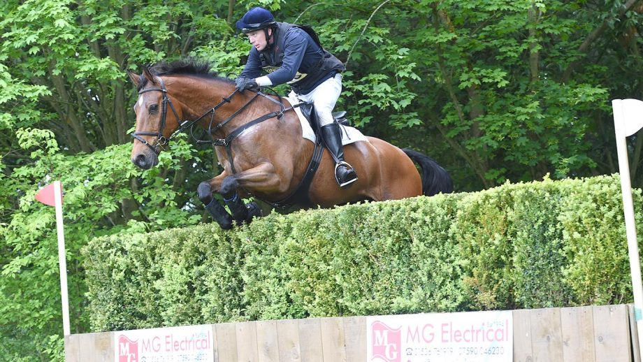 Richard Skelt riding CREDO III in the CIC** Section C during the Rockingham Castle Horse Trials near Corby in Northamptonshire,UK on the 21st May 2016