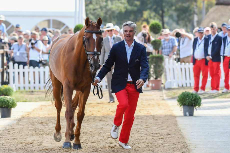 European Eventing Championships trot-up