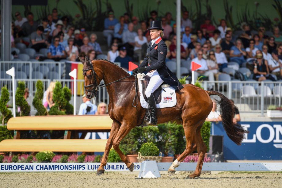 European Eventing Championships dressage Tina Cook