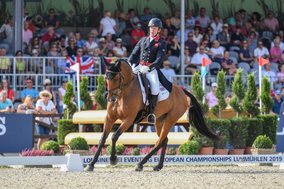 European Eventing Championships dressage Oliver Townsend